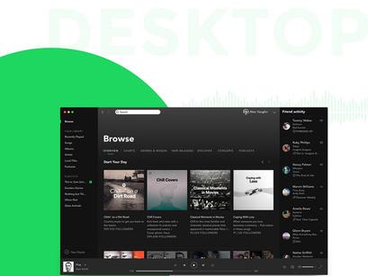 Free Spotify Mockup