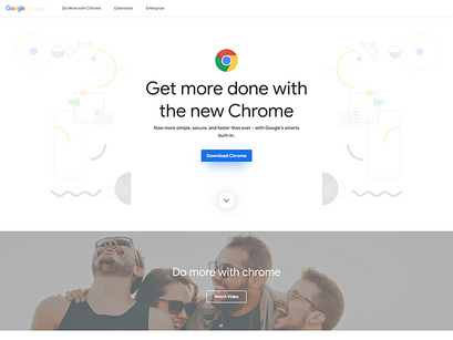 Google Chrome Design ( Adobe XD) by Ramandesigns9 ~ EpicPxls