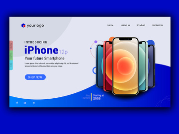Smart Phone Landing Page preview picture