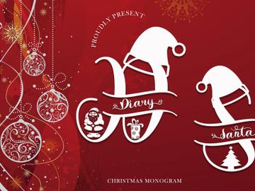 Diary Santa Monogram preview picture