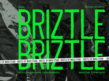 Briztle - Condensed Font preview picture