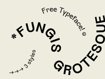 FUNGIS - Free Typeface preview picture