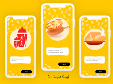 Food App Onboarding preview picture