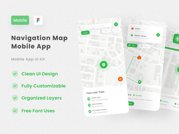 Map Navigation App preview picture