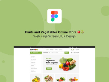 Fruits and Vegetables online store 🍎🥝 preview picture