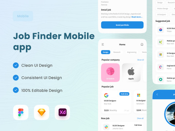 Job Finder Mobile App preview picture