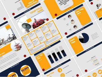 Orenji Presentation Template preview picture