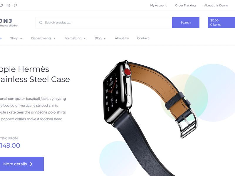 CONJ - eCommerce WordPress Theme preview picture