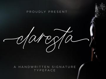 Claresta - Handwritten Signature preview picture