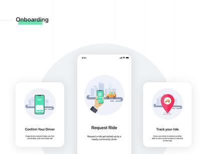 Aber Mobile UI Kit by Freeslab88 ~ EpicPxls