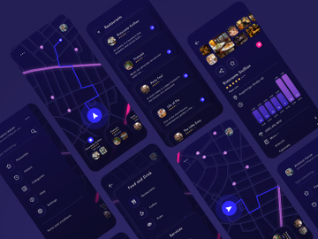 Throttle App UI preview picture