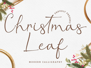 Christmas Leaf preview picture