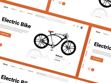 Electric Bike Web Hero preview picture