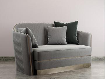 Pro 3D Sofa Model preview picture