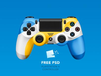 Dualshock 4 [ FREE PSD] by Pedja Rusic ~ EpicPxls