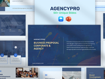 AgencyPro - Business Proposal Pitchdeck Presentation preview picture