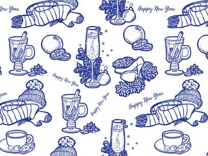 New Year Free Pattern