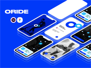 Oride App preview picture