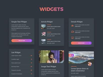 Grada - Free Figma UI Kit by Cosmin Negoita ~ EpicPxls