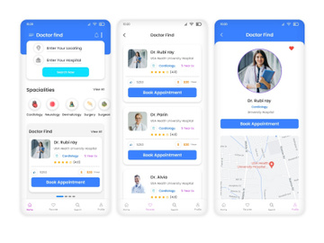 Doctor Booking Mobile  App preview picture