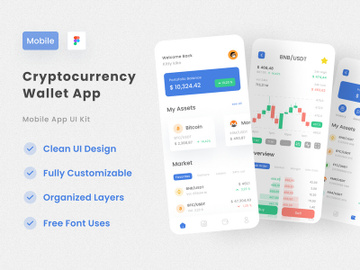 Cryptocurrency App preview picture