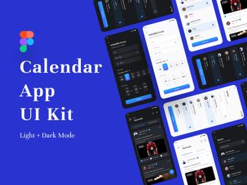 Calendar App UI Kit preview picture
