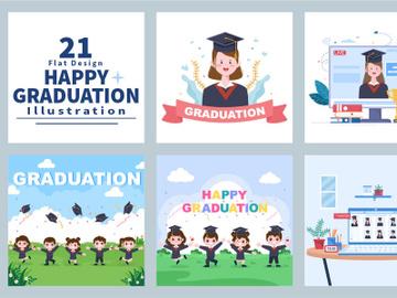 21 Online Virtual Graduation Students Celebrating preview picture