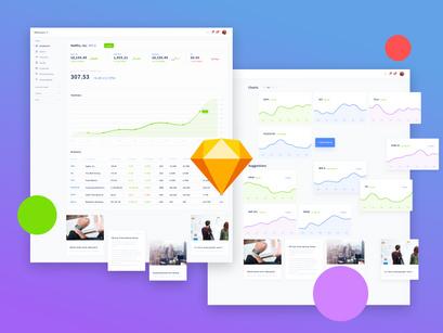 Walletquery Dashboard UI Kit