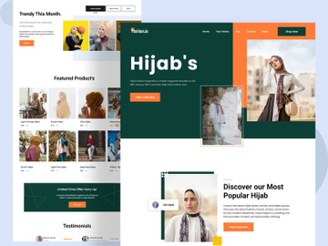 Hijab Landing Page preview picture
