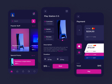 PlayStation Rentals App preview picture