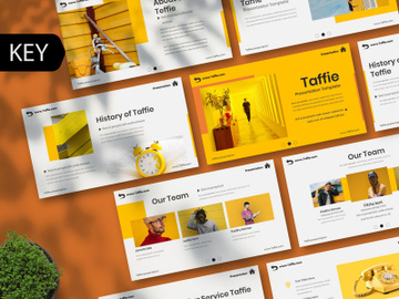Taffie Creative keynote Template preview picture