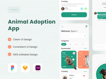Animal Adoption App preview picture