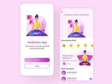 Meditation App (V2) preview picture