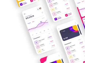 Finance App Concept preview picture
