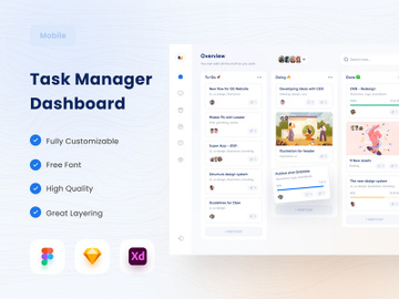 Task Manager Dashboard 😱 preview picture