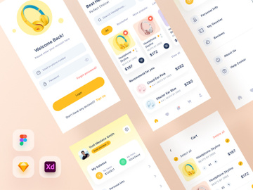 Ecommerce Ui Kits preview picture