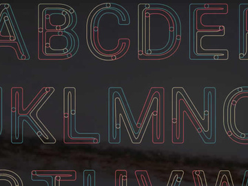 Alphabet: Animated Font & AE Project preview picture
