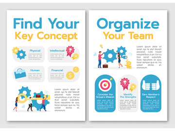 Find your key concept template preview picture