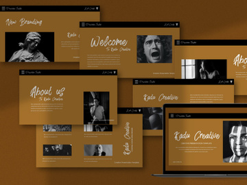 Kadu Creative Keynote Template preview picture