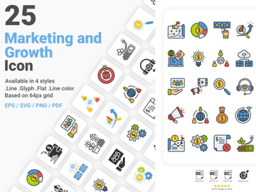 Marketing And Growth Icons Pack preview picture