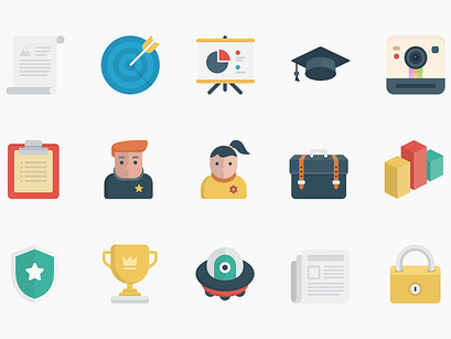 Freebie: Flato vector icons set by PixelBuddha ~ EpicPxls