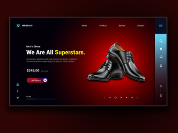 Shoesmen Landing Page preview picture