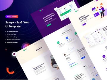 Saaspk - SaaS  Web UI Template preview picture