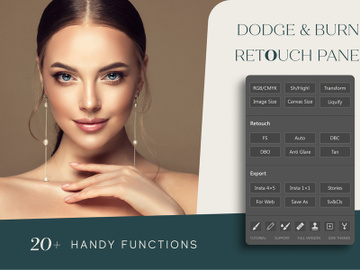 Dodge And Burn Retouch Panel preview picture