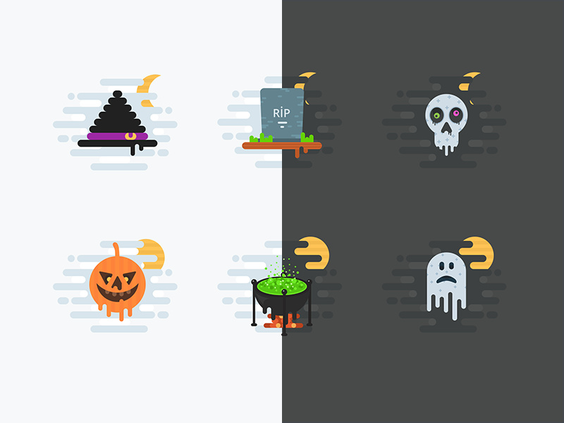Halloween Free Icons preview picture