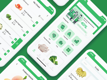 grocery app preview picture
