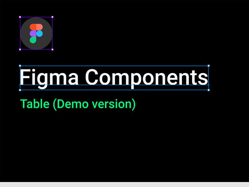 Figma Table UI Kit by Alex Martinov ~ EpicPxls