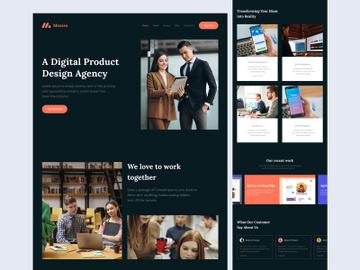 Mezzex - Agency Landing Page preview picture
