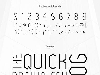 Cornera Free Font by Gatis Vilaks ~ EpicPxls