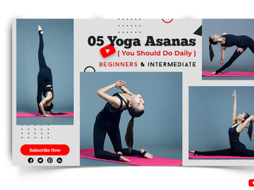 Yoga Youtube Thumbnails preview picture